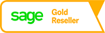 Sage Logo: Bösen & Heinke GmbH & Co. KG ist Sage 100 Warenwirtschaft Gold Reseller