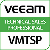 "Logo Bösen & Heinke GmbH & Co. KG ist veeam Technical Sales Professional ""VMTSP"""