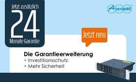 Auerswald Telefonanlagen 24 Monate Garantieerweiterung für mehr Sicherheit und Investitionsschutz