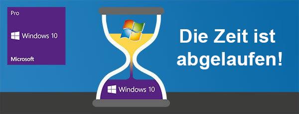 Die Zeit läuft... Update auf Windows 10 mit Bösen & Heinke GmbH & Co. KG