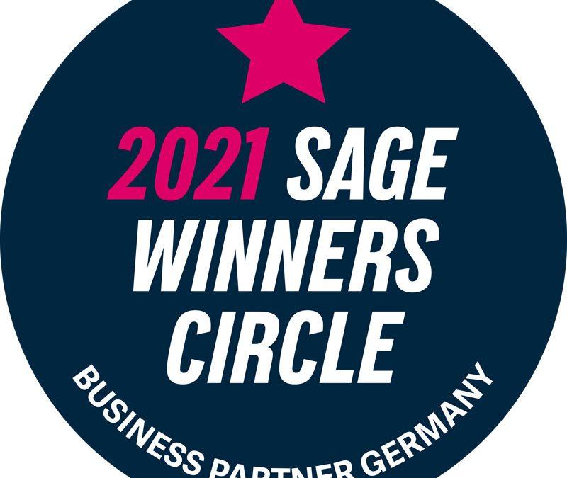 Bösen & Heinke GmbH & Co. KG erhält den Sage Winners Circle-Award 2021
