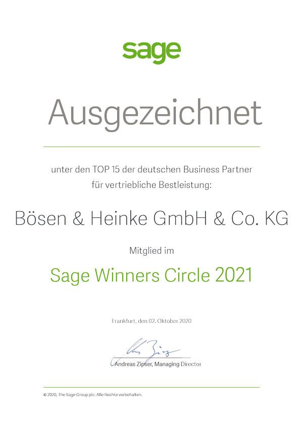 Urkunde_Boesen-Heinke-Sage-Winners-Circle