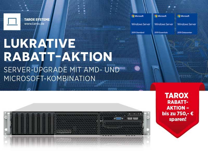 TAROX lukrative Rabatt-Aktion: bis zu 750 € sparen!