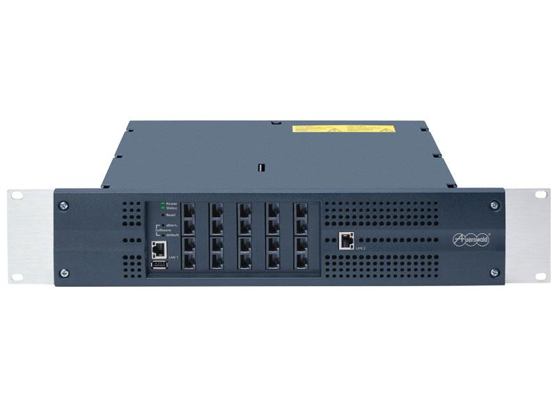 Auerswald Software COMtrexx für Telefonanlagen auf einem Computer und Mobiltelefon